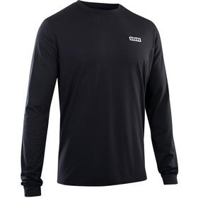 ION DriRelease Maglietta S_Logo a maniche lunghe Uomo, nero